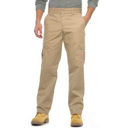 Dickies Flex Cargo Pants - Regular Fit (For Men) in Desert Sand - Closeouts
