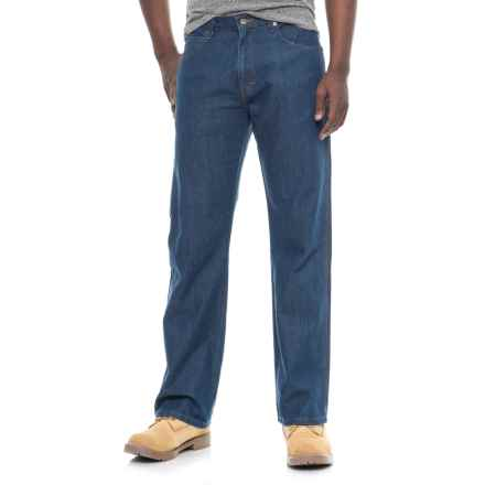 Dickies Flex Carpenter Tough Max Jeans - Relaxed Fit, Straight Leg (For Men) in Stonewashed Indigo Blue - 2nds