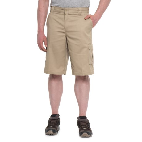 Dickies Flex Relaxed Fit Cargo Shorts (For Men) in Desert Sand