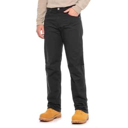 Dickies Flex Tough Max Pants - Regular Fit (For Men) in Rinsed Black - 2nds