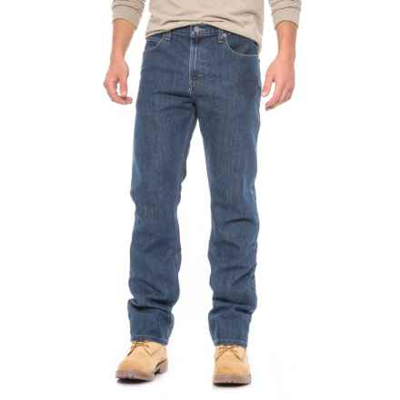 Dickies Flex Tough Max Straight Leg Jeans - 5-Pocket (For Men) in Stonewashed Blue - Closeouts