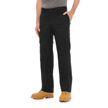 Dickies Flex Twill Cargo Pants - Regular Fit (For Men) in Black