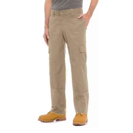 Dickies Flex Twill Cargo Pants - Regular Fit (For Men) in Desert Sand - 2nds