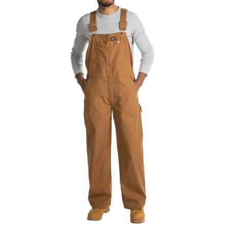 Dickies Genuine Duck Bib Overalls - Cotton, Non-Insulated (For Men and Big Men) in Brown Duck - Closeouts