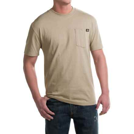 Dickies Heavyweight Cotton T-Shirt - Short Sleeve (For Men) in Desert Sand - 2nds