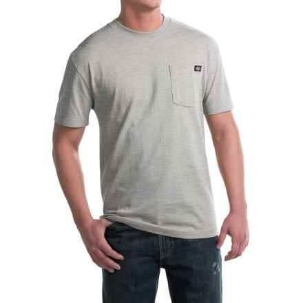 Dickies Heavyweight Cotton T-Shirt - Short Sleeve (For Men) in Heather Grey - 2nds