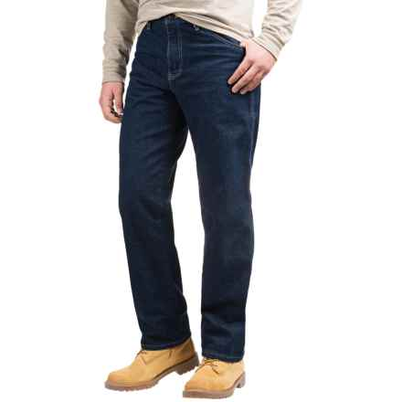Dickies Heavyweight Regular Fit Jeans - Straight Leg, 5-Pocket (For Men) in Rinsed Indigo Blue - 2nds