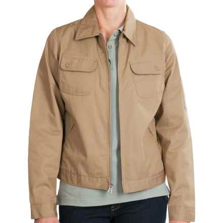 Dickies Heritage 8 oz. Twill Jacket (For Women) in Desert Sand - Closeouts
