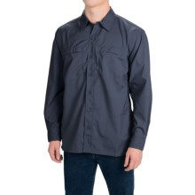 Dickies High-Performance Flex Shirt - UPF 50+, Long Sleeve (For Men and Big Men) in Dark Navy - Closeouts