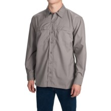 Dickies High-Performance Flex Shirt - UPF 50+, Long Sleeve (For Men and Big Men) in Smoke - Closeouts