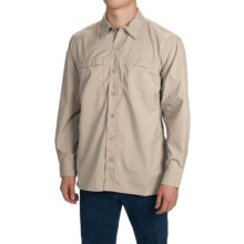 Dickies High-Performance Flex Shirt - UPF 50+, Long Sleeve (For Men and Big Men) in Stone - Closeouts