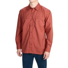 Dickies High-Performance Flex Shirt - UPF 50+, Long Sleeve (For Men and Big Men) in Vintage Rust - Closeouts