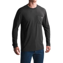 Dickies High-Performance Pocket T-Shirt - Long Sleeve (For Men and Big Men) in Black - Closeouts