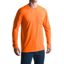 Dickies High-Performance Pocket T-Shirt - Long Sleeve (For Men and Big Men) in Neon Orange - Closeouts