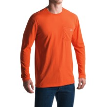 Dickies High-Performance Pocket T-Shirt - Long Sleeve (For Men and Big Men) in Red Clay - Closeouts