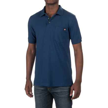 Dickies High-Performance Polo Shirt - Short Sleeve (For Men and Big Men) in Denim - Closeouts