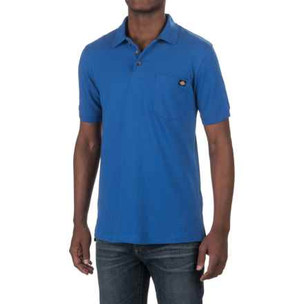 Dickies High-Performance Polo Shirt - Short Sleeve (For Men and Big Men) in Royal Blue - Closeouts