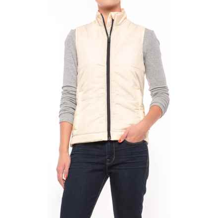 Dickies High-Performance Quilted Vest (For Women) in Antique White - Closeouts