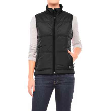 Dickies High-Performance Quilted Vest (For Women) in Black - Closeouts