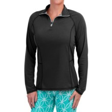 Dickies High-Performance Shirt - Zip Neck, Long Sleeve (For Women) in Black - Closeouts