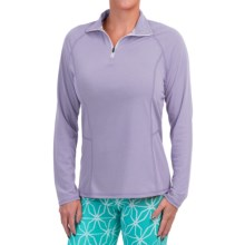 Dickies High-Performance Shirt - Zip Neck, Long Sleeve (For Women) in Freesia - Closeouts