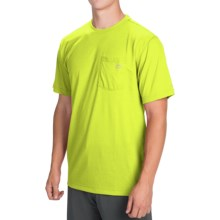 Dickies High-Performance T-Shirt - Short Sleeve (For Men) in Neon Yellow - Closeouts