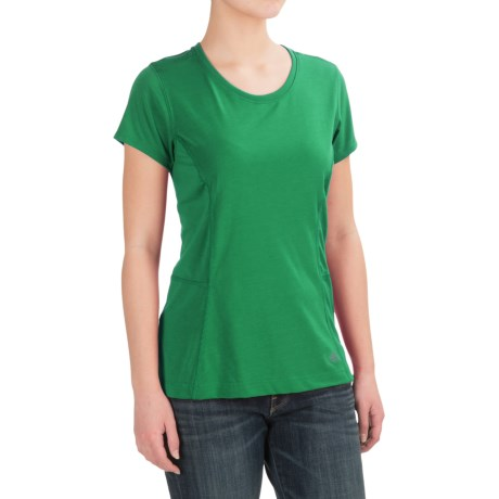 Dickies High-Performance T-Shirt - Short Sleeve (For Women) in Grass