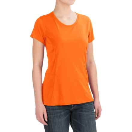 Dickies High-Performance T-Shirt - Short Sleeve (For Women) in Mandarin - 2nds