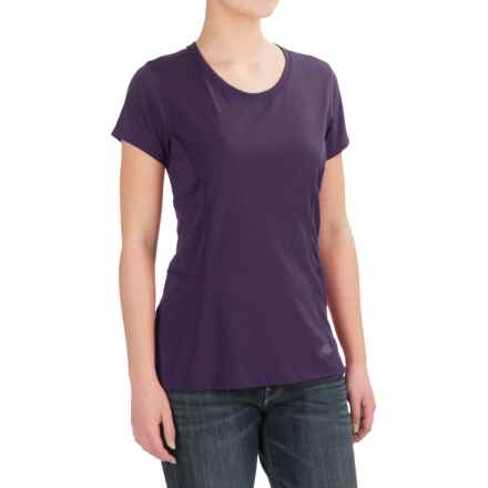 Dickies High-Performance T-Shirt - Short Sleeve (For Women) in Mid Purple - 2nds