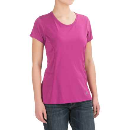 Dickies High-Performance T-Shirt - Short Sleeve (For Women) in Pnik Berry - 2nds