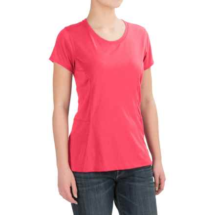 Dickies High-Performance T-Shirt - Short Sleeve (For Women) in Rouge Red - 2nds
