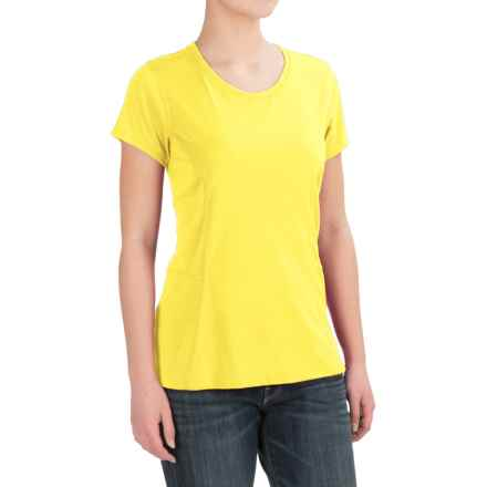 Dickies High-Performance T-Shirt - Short Sleeve (For Women) in Vibrant Yellow - 2nds