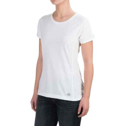 Dickies High-Performance T-Shirt - Short Sleeve (For Women) in White - 2nds