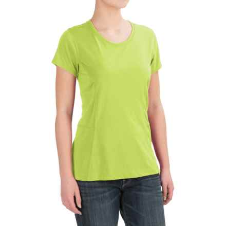 Dickies High-Performance T-Shirt - Short Sleeve (For Women) in Wild Lime - 2nds