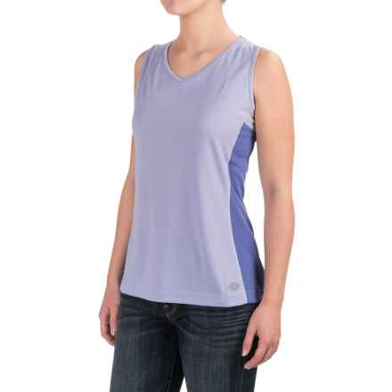 Dickies High-Performance Two-Tone Tank Top - UPF 40+ (For Women) in Freesia - 2nds
