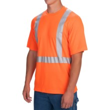 Dickies High-Visibility ANSI Class 2 T-Shirt - Short Sleeve (For Men) in Ansi Orange - Closeouts