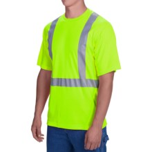 Dickies High-Visibility ANSI Class 2 T-Shirt - Short Sleeve (For Men) in Ansi Yellow - Closeouts