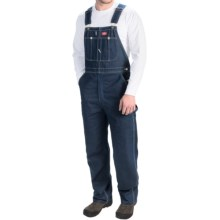 Dickies Indigo Bib Overalls (For Men) in Indigo Blue - 2nds