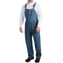 Dickies Indigo Bib Overalls (For Men) in Stonewashed Blue - 2nds