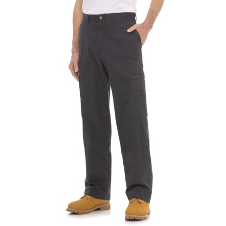 Dickies Industrial Cargo Pants - Relaxed Fit (For Men) in Charcoal