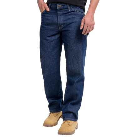 Dickies Industrial Carpenter Jeans (For Men) in Rnb Rinsed Indigo Blue - 2nds