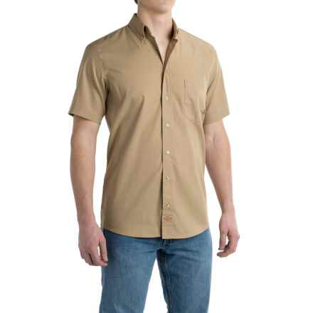 Dickies Industrial Flex Work Shirt - Short Sleeve (For Men) in Desert Sand - Closeouts