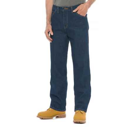Dickies Industrial Jeans - Relaxed Fit (For Men) in Rinsed Indigo Blue - 2nds