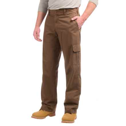 Dickies Lightweight Cotton Ripstop Cargo Pants - Relaxed Fit (For Men) in Rinsed Timber - Closeouts
