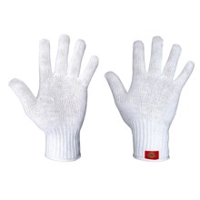 Dickies Machine Knit Gloves (For Men and Women) in White - Closeouts