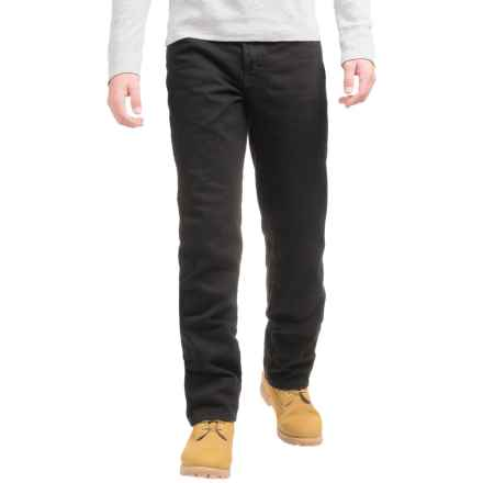 Dickies Midweight Regular Fit Jeans - Straight Leg, 5-Pocket (For Men) in Rinsed Overdyed Black - 2nds