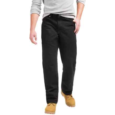 Dickies Overdyed Regular Fit Jeans - Straight Leg, 5-Pocket (For Men) in Rinsed Overdyed Black - 2nds