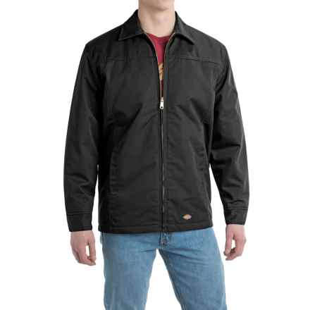 Dickies Panel Yoke Jacket - Insulated (For Men) in Black - Closeouts