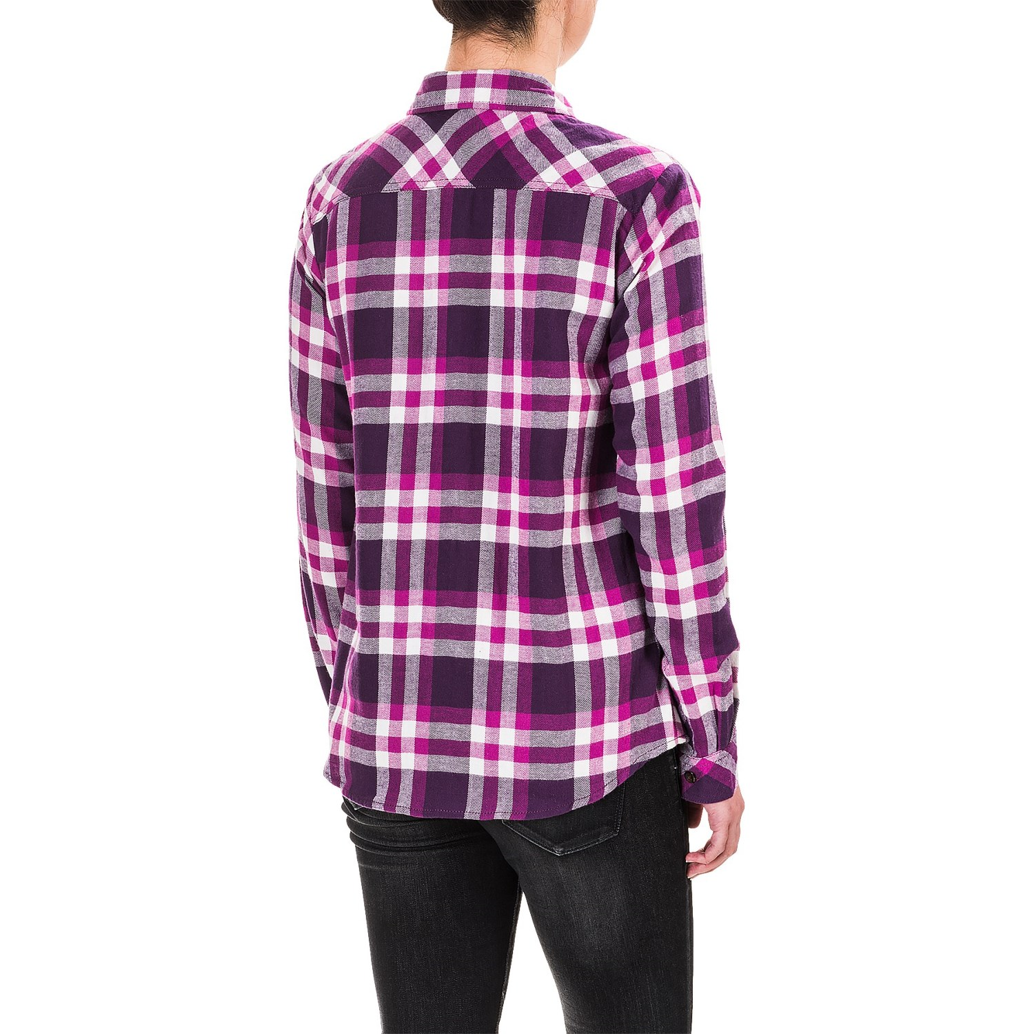 Dickies plaid flannel shirt for women save 64 for Girl in flannel shirt