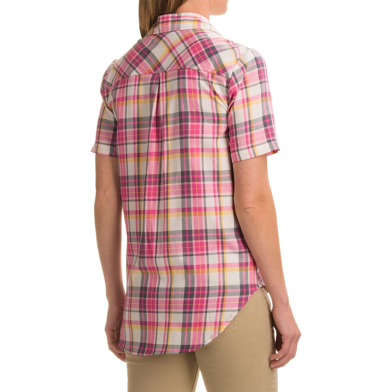 Dickies plaid shirt for women save 70 for Dickies short sleeve plaid shirt